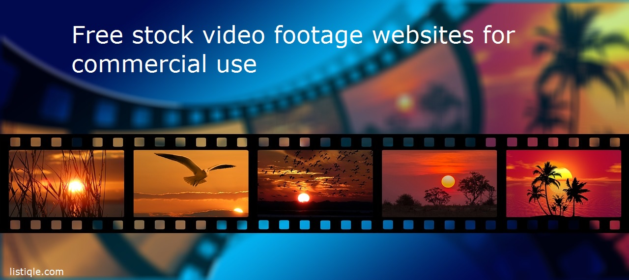 Free stock video footage websites for commercial use (creative commons zero - CC0) in 2020