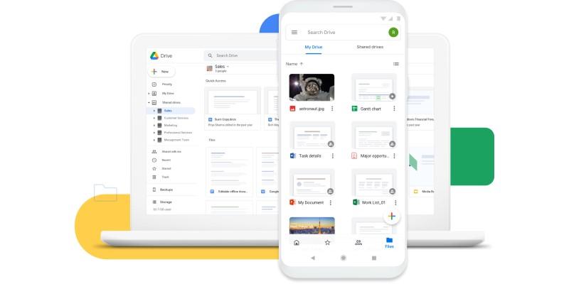 Google Drive - Cloud Storage & File Backup for Photos, Docs & More