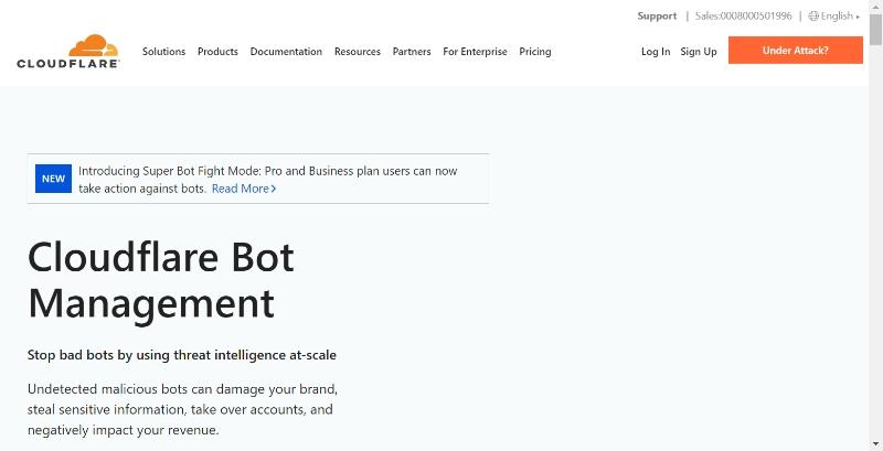 Cloudflare Bot Management