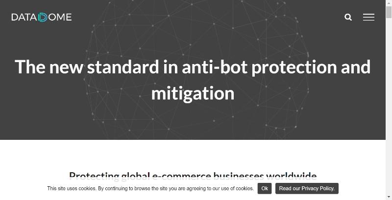 DataDome anti-bot protection