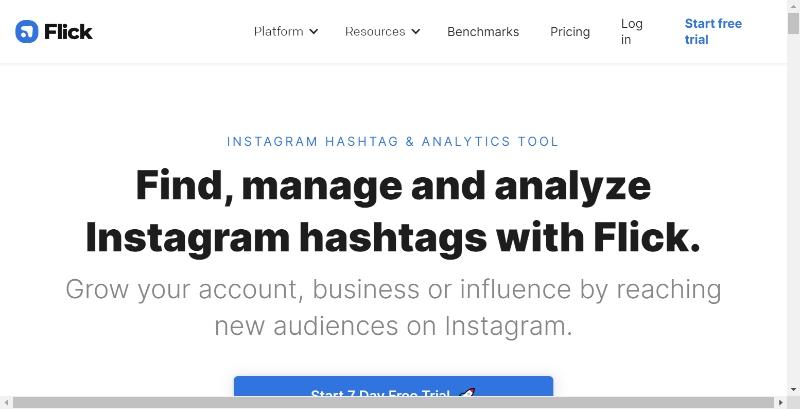 Flick hashtag generator