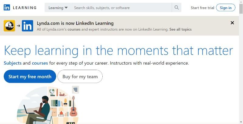 Linkedin learning (Lynda.com)