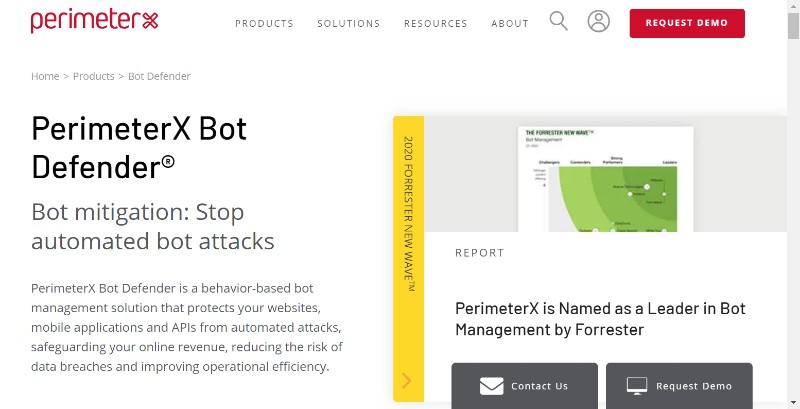 PerimeterX Bot Defender