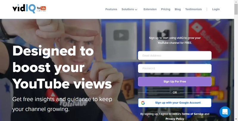 VidIQ offers and Promo Code