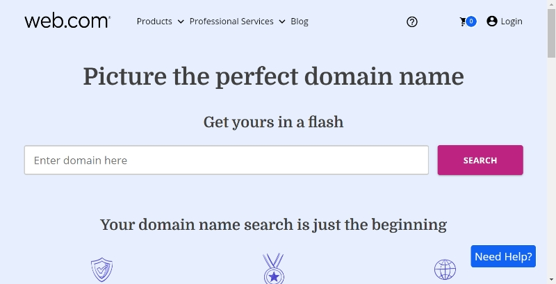 Web.com domains