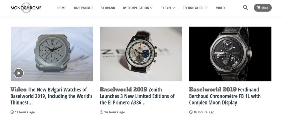 MONOCHROME Watches