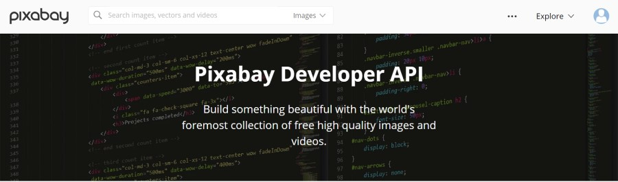 Pixabay Developer API