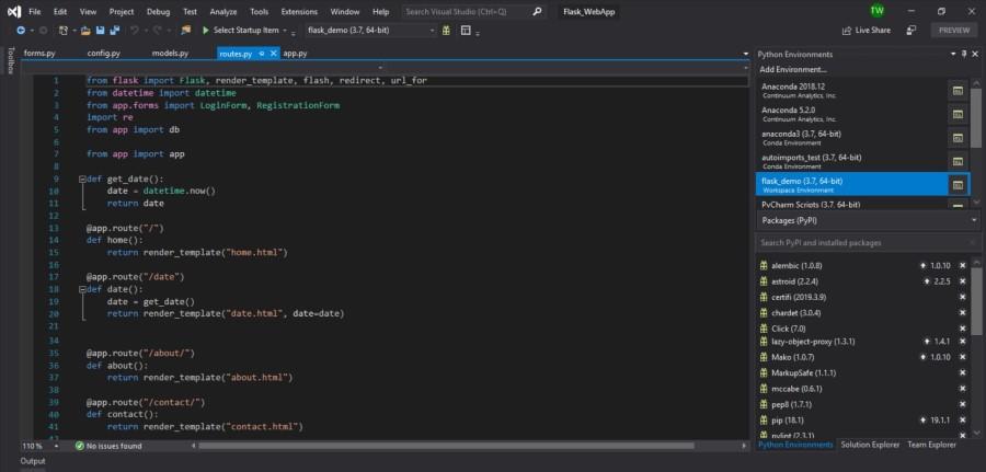 Visual Studio for Python