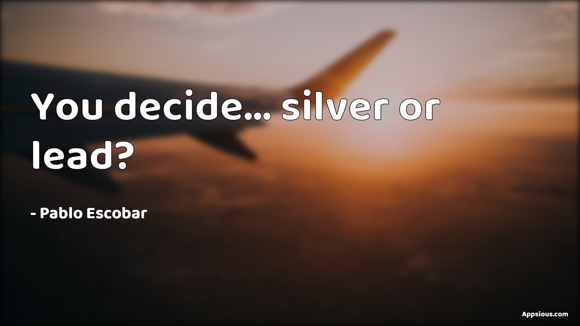 You decide... silver or lead?