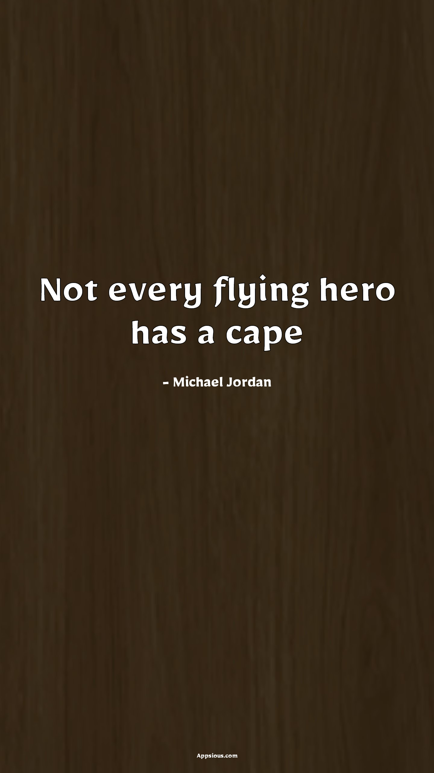 Not every flying hero has a cape
