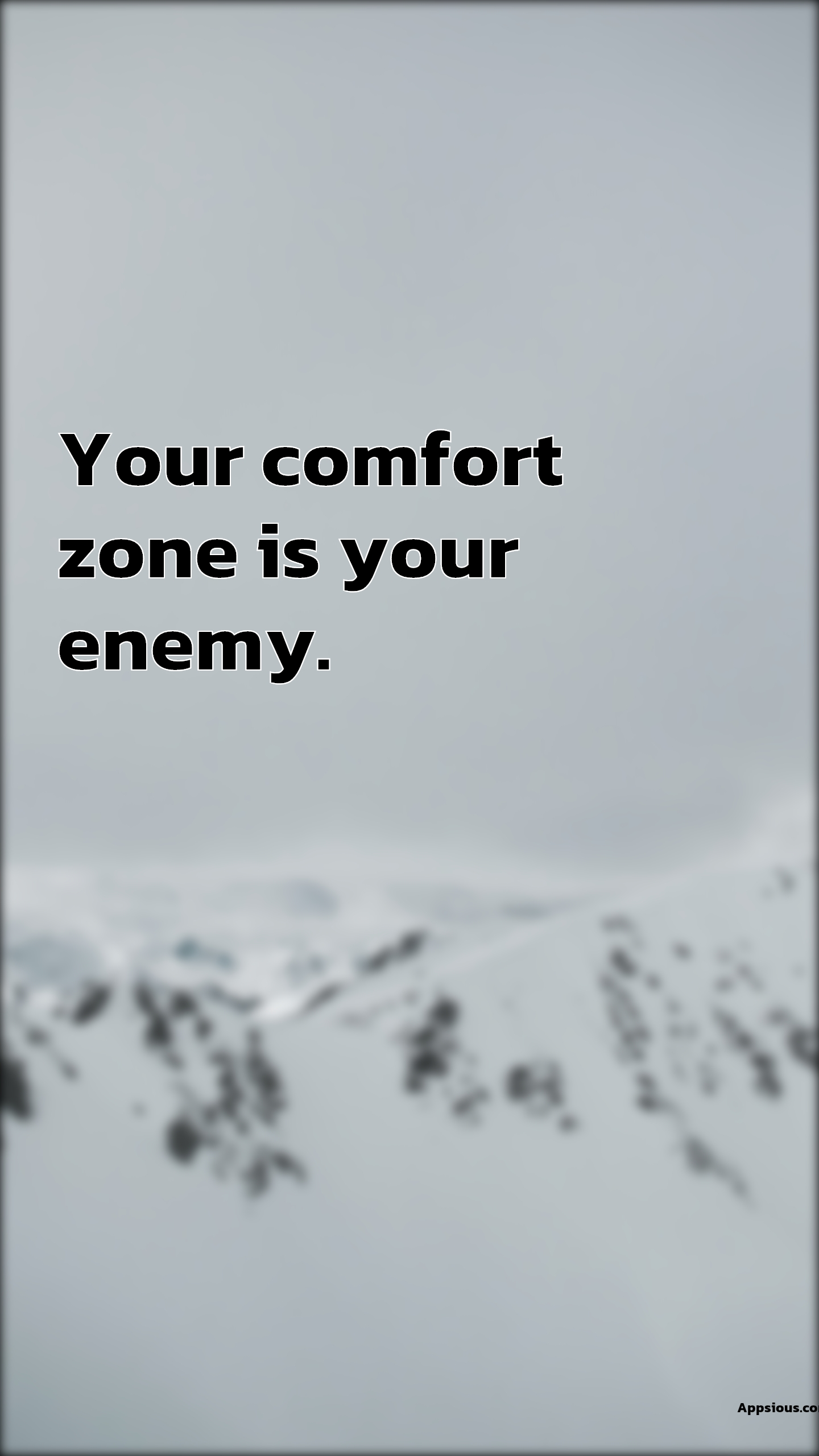 Your comfort zone is your enemy.