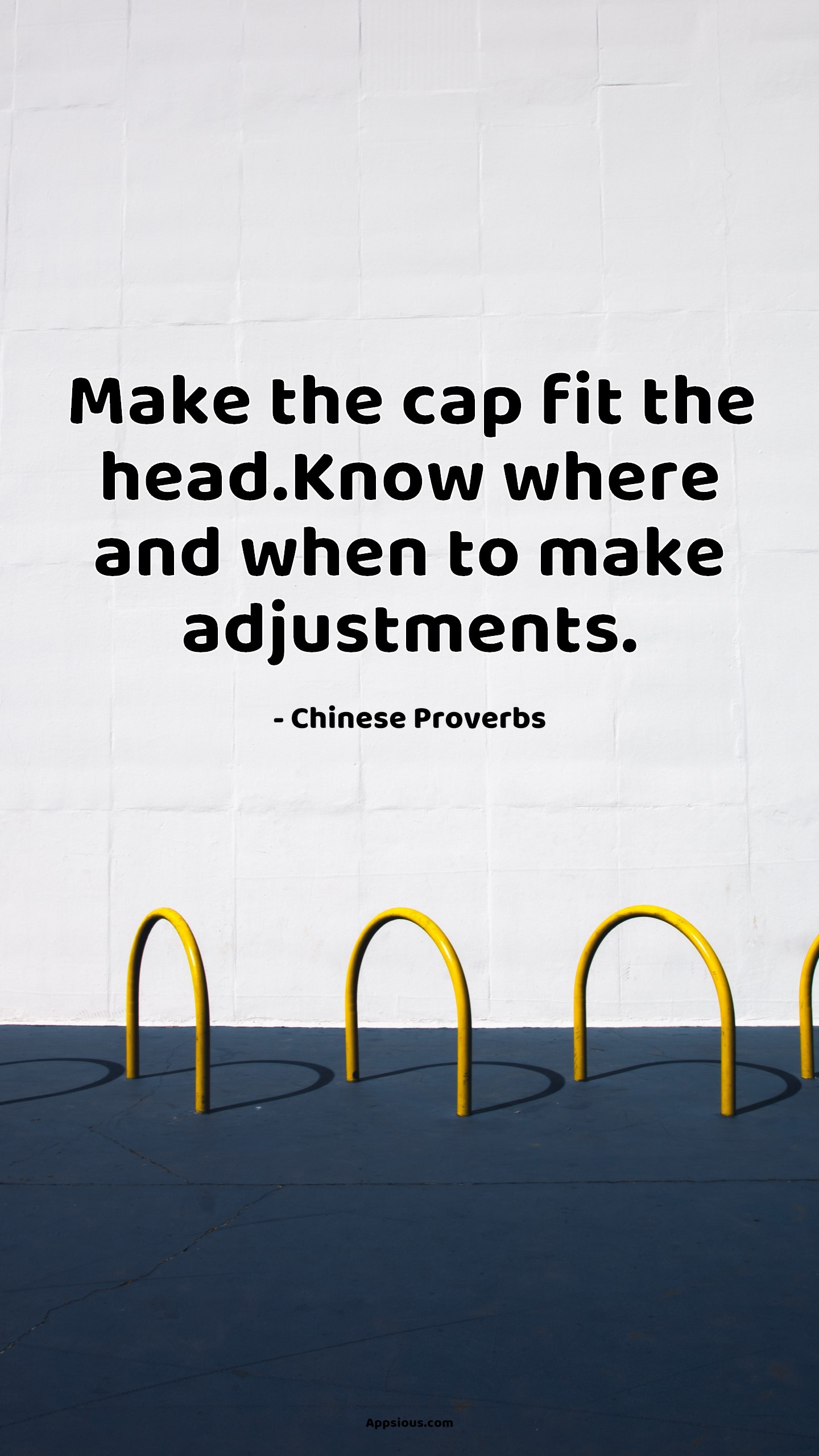 Make the cap fit the head.Know where and when to make adjustments.