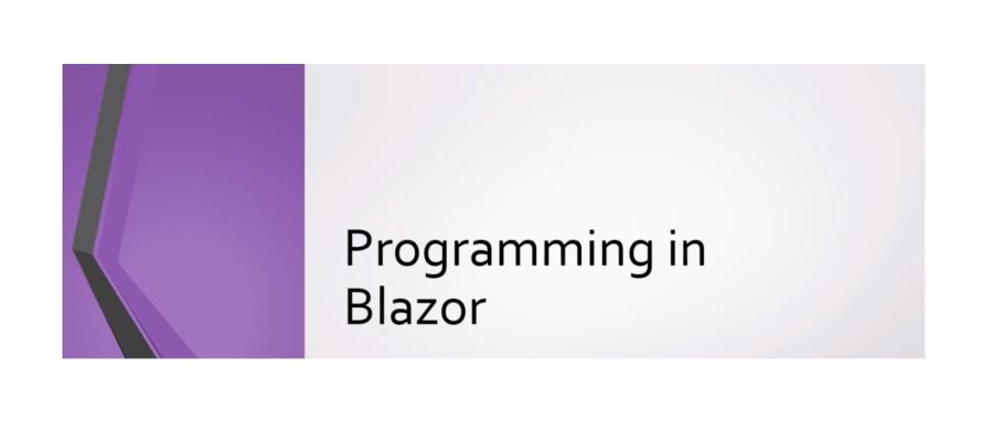 Programming in Blazor -  Udemy