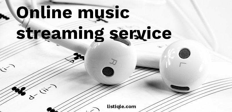 Websites for listening songs - Best online music streaming service 2018