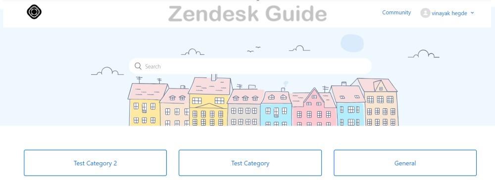Zendesk Guide