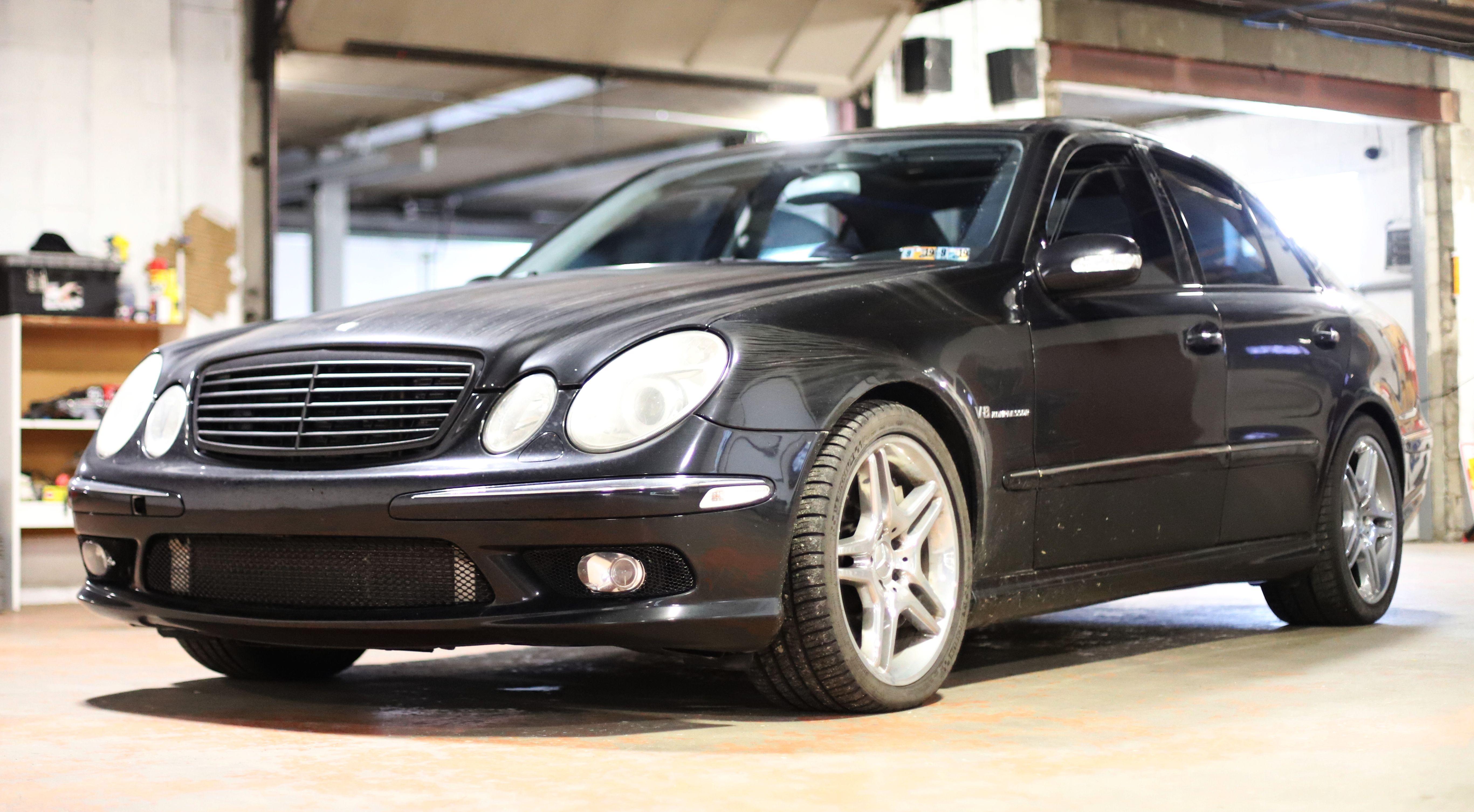 TORQUELIST - 2004 Mercedes-Benz E55 AMG