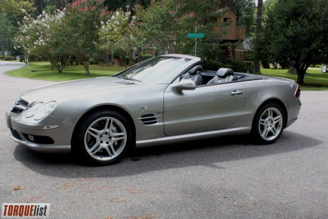 torquelist for sale 2003 mercedes benz sl55 amg. Black Bedroom Furniture Sets. Home Design Ideas