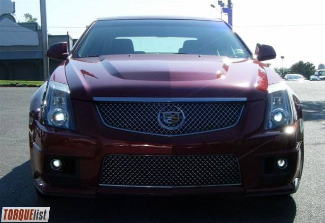torquelist for sale 2010 cadillac cts v sport sedan crystal red with lt titanium ebony. Black Bedroom Furniture Sets. Home Design Ideas