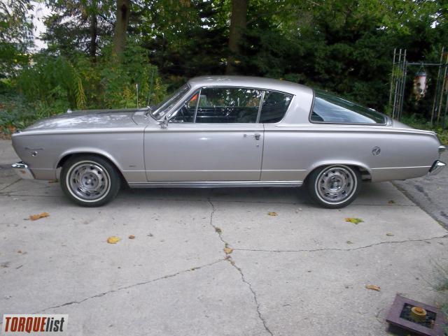TORQUELIST - For Sale: 1966 barracuda formula s