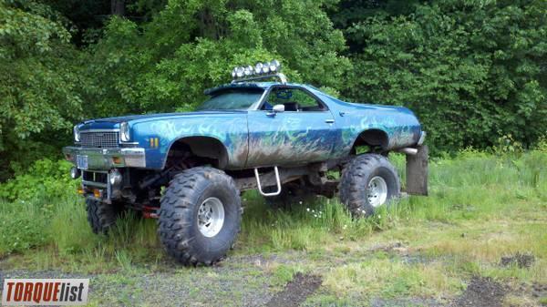 TORQUELIST - For Sale: 1973 El Camino 4x4 Monster Truck