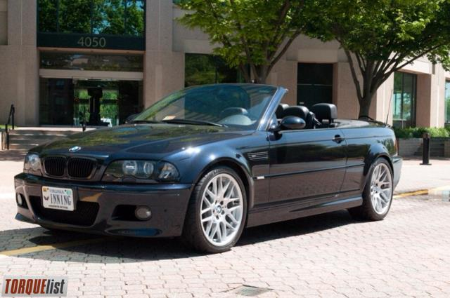 2003 e46 m3 convertible