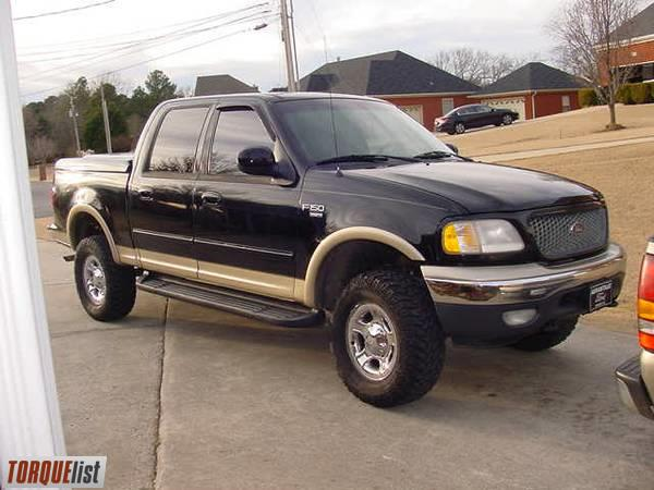 TORQUELIST - For Sale: 2001 Ford F-150 SuperCrew 4x4 ...