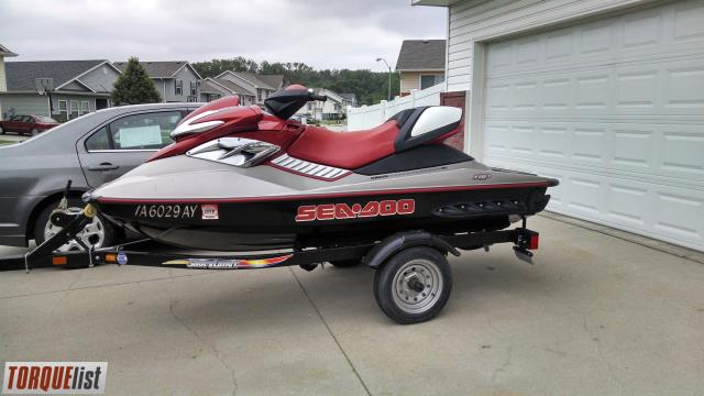 TORQUELIST - For Sale: 2005 SEADOO RXP SUPERCHARGER JUST