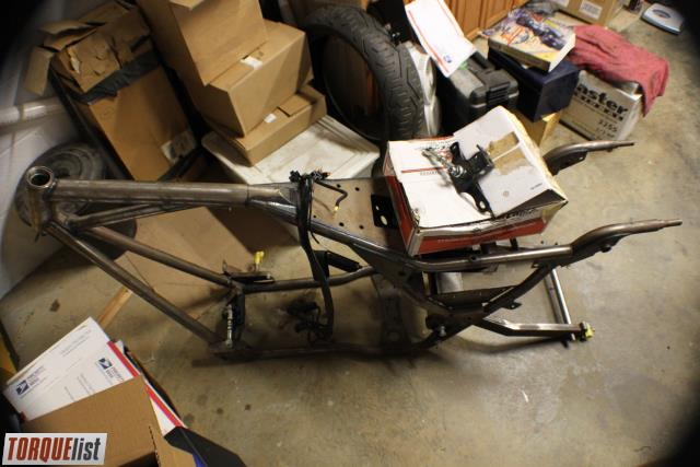 For Sale Is A Rolling Thunder Bagger Frame For 200 Rear Tire. Rear Swingarm  And Axle, With All Pivot Parts Included. As Stated, This Is Setup For A 200  Rear ...