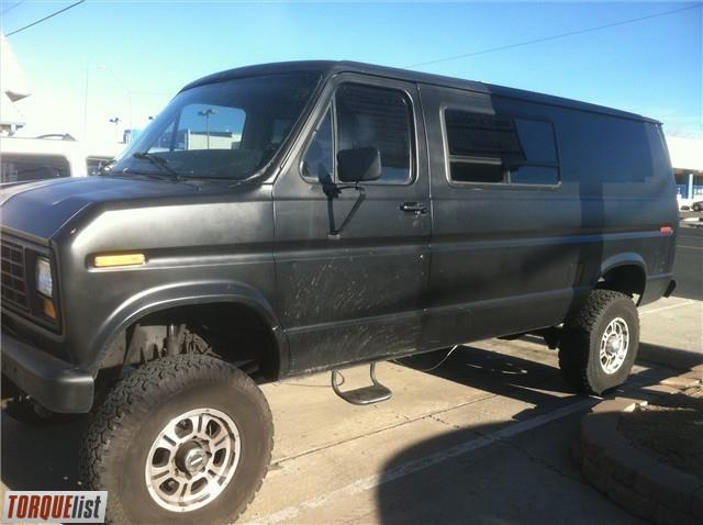 4X4 Van For Sale >> Torquelist For Sale 86 4x4 Ford F350 Van For Sale