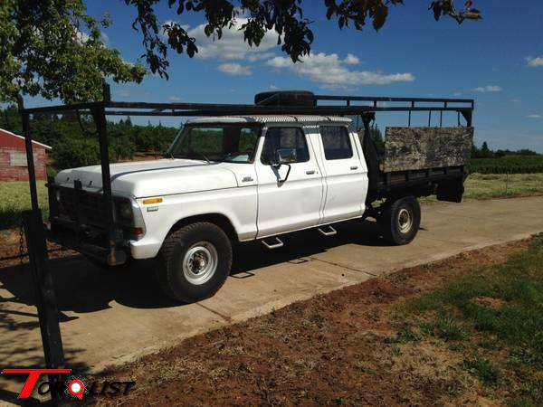 TORQUELIST - For Sale: 1979 Ford F250 crew cab with