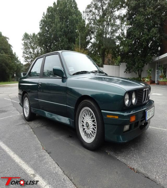 For Sale: 1990 BMW M3