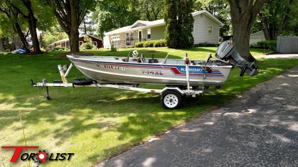 TORQUELIST - For Sale/Trade: Alumacraft T-14XL Fishing Boat
