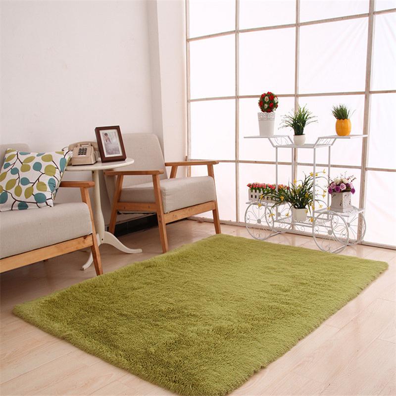 plush rectangle living room bedroom floor mat cover carpet f