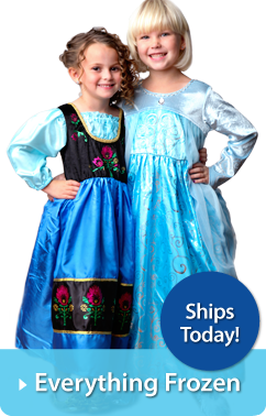 Frozen Replica Dresses available at LittleDressUpShop