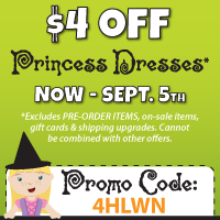 Specials on Dress Ups and Costumes at LittleDressUpShop.com