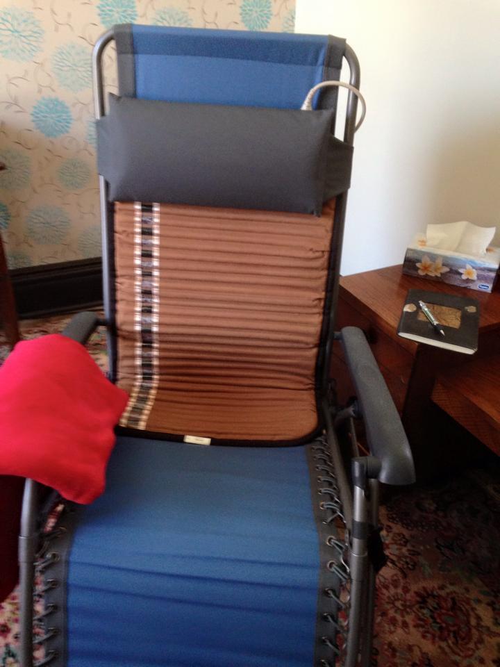 BioMat on Anti-Gravity Chair
