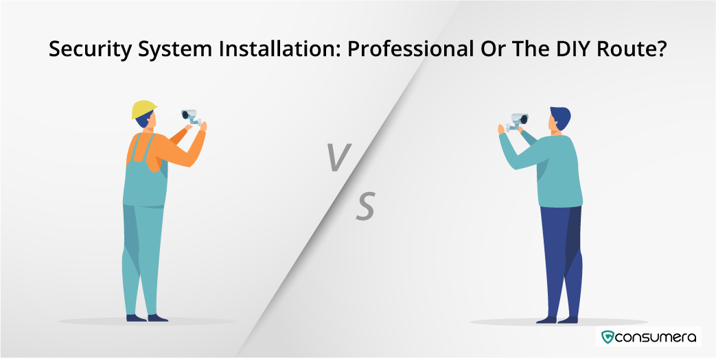 Security System Installation: Professional Or The DIY Route?