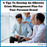 Icon 4 tips to develop an effective crisis management plan for your personal brand