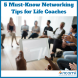 Icon 5 networking tips for life coaches