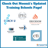 Icon noomii s has updated the training schools page