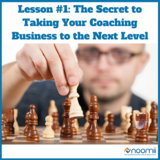 Icon lesson  1  the secret to taking your coaching business to the next level