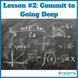 Icon lesson  2  commit to going deep