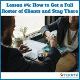 Icon lesson  4  how to get a full roster of clients and stay there