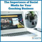 Icon the importance of social media for your coaching business