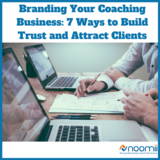 Icon branding your coaching business  7 ways to build trust and attract clients