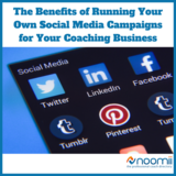 Icon the benefits of running your own social media campaigns for your coaching business