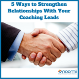 Icon 5 ways to strengthen relationships with your coaching leads