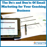 Icon the do s and don ts of email marketing for your coaching business