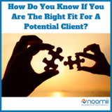Icon how do you know if you are the right fit for a potential client
