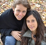 Tammy Peix and Laura Luis